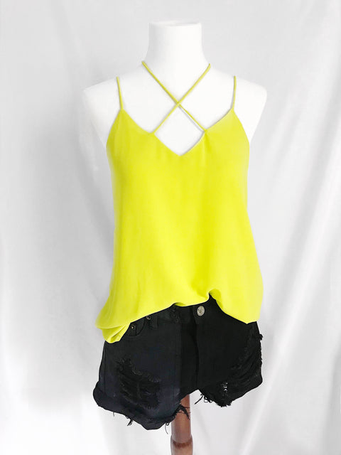 Switch It Up Top Citrus yellow - Shellsea