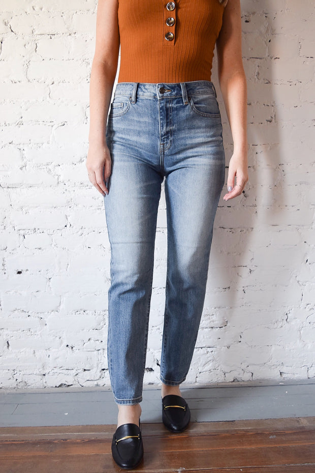 Tyler High Rise Ankle Jeans