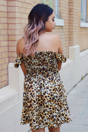 Amigas Cheetah Dress - Shellsea