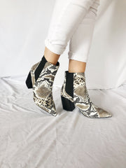 Rock My Way Snakeskin Boots
