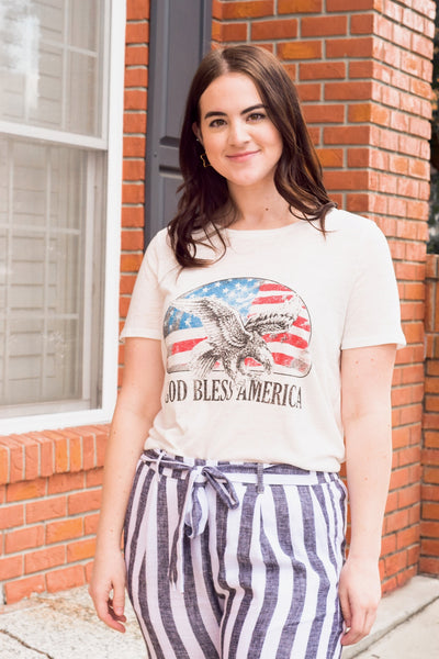 God Bless The USA Top