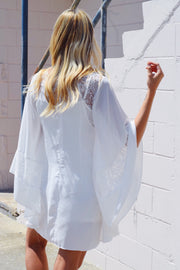 State Your Lace Dress Ivory