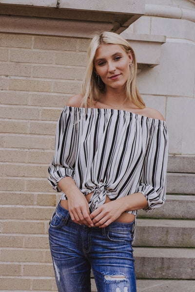 Your Remedy Off The Shoulder Top
