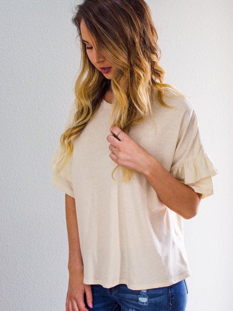 Knitty or Nice Top Ivory