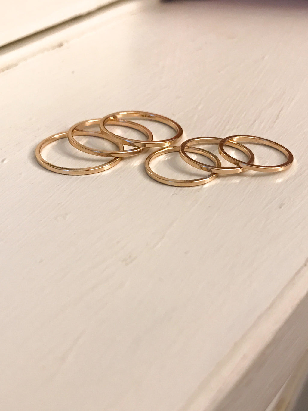 Gold Midi Ring Set - Shellsea
