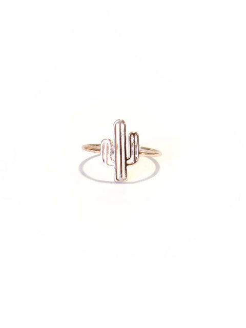Arizona Cactus Ring Rose Gold - Shellsea