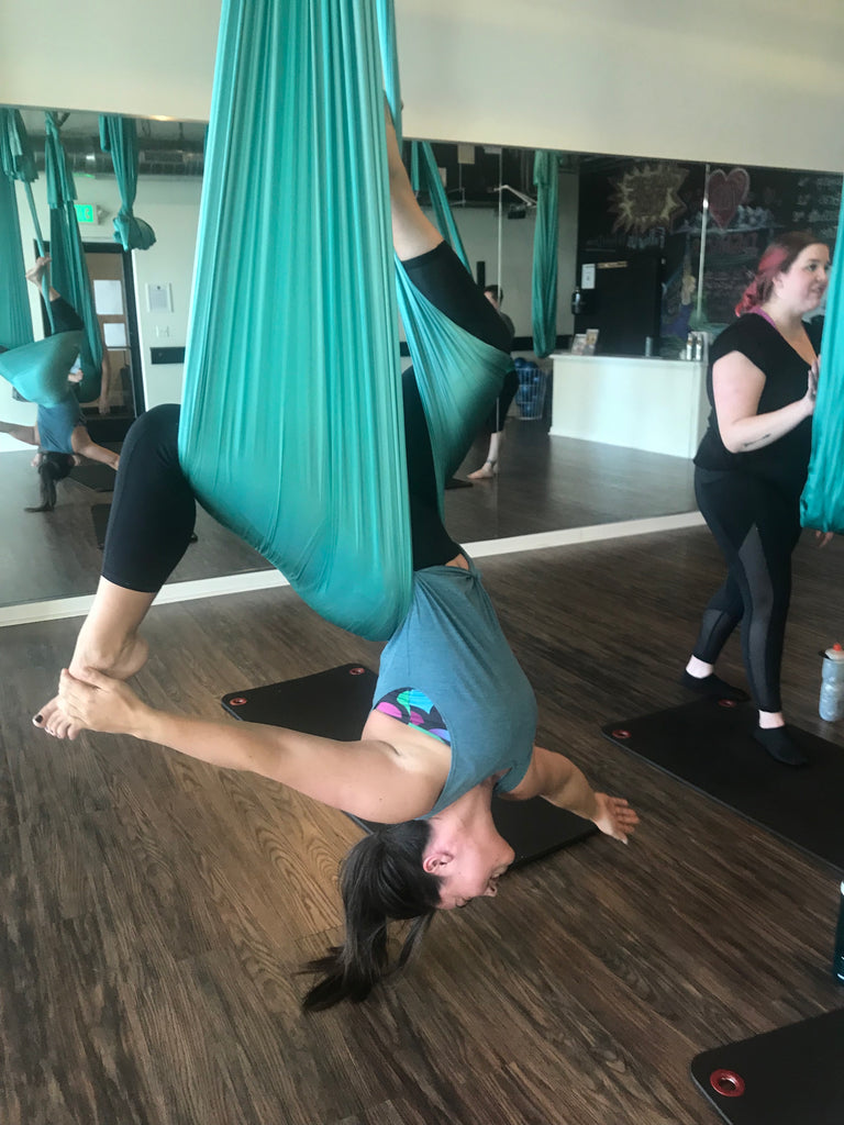 Lifting the Dream- Blog Post: Try Aerial Yoga