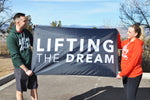 Lifting the Dream Banner