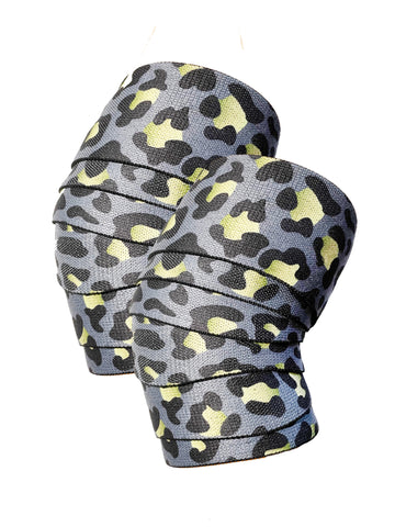 Lucky Leopard Knee Wraps