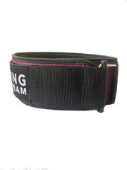 "Bordeaux 4"" Customizable Belt"