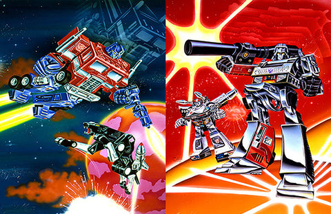 Transformer Double Scene 4 : By Artist Mark Watts