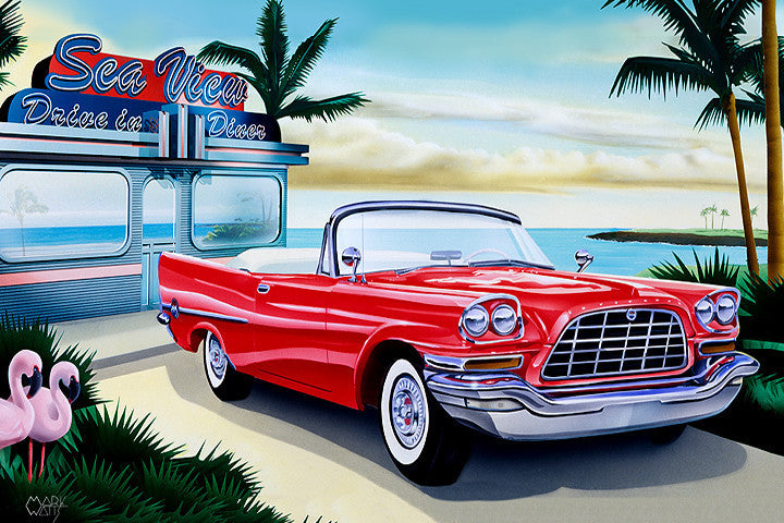Bahama Breeze Art: By Artist Mark Watts
