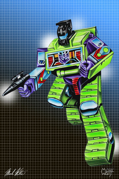 Transformer Bone Ctusher : By Artist Mark Watts