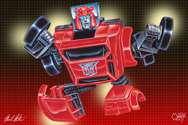 Transformer Clifjumper : By Artist Mark Watts