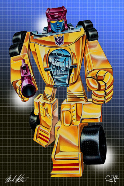 Transformer Dragstrip: By Artist Mark Watts