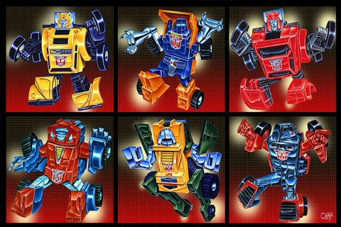 Transformer G1 Group: By Artist Mark Watts