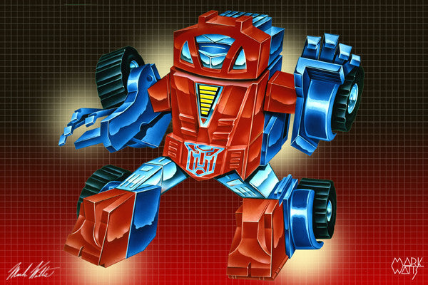 Transformer Gears : By Artist Mark Watts