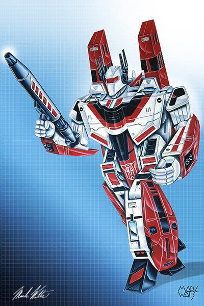 Transformer Jetfire : By Artist Mark Watts
