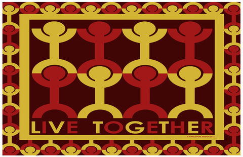 Live Together: By Artist Mark Watts