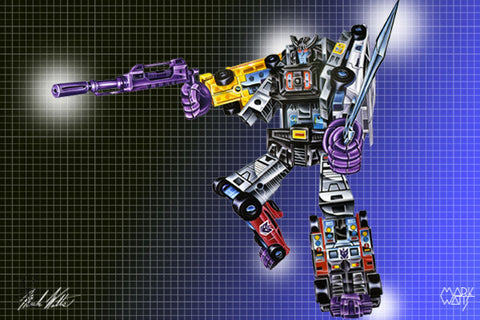 Transformer Menasor: By Artist Mark Watts