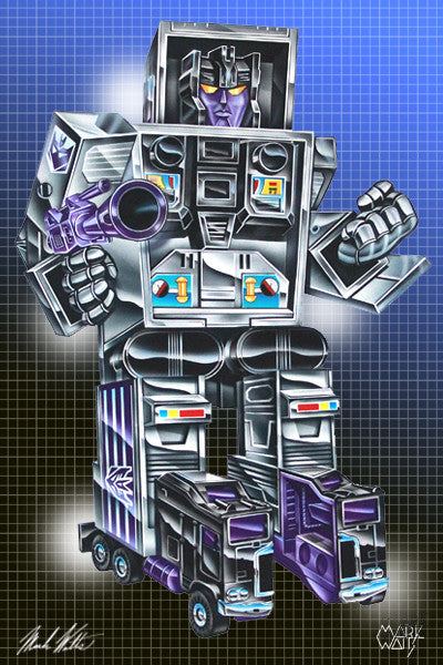 Transformer Motor Master: By Artist Mark Watts