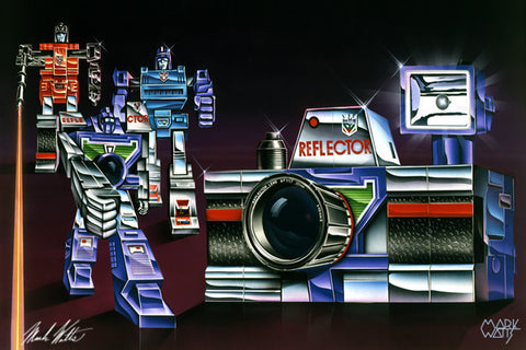 Transformer  Reflector : By Artist Mark Watts