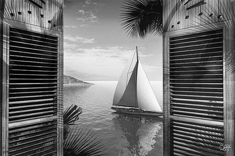 Set Sail Black & White: By Artist Mark Watts