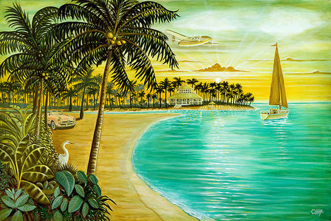 Tropic Cove Art: By Artist Mark Watts