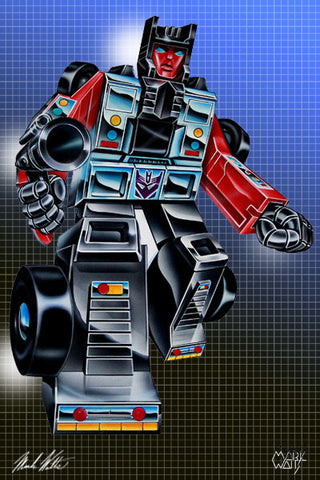 Transformer Wildrider: By Artist Mark Watts