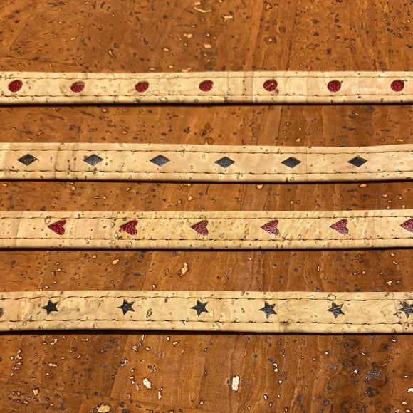 Strapping - Decorative Inlay cork strapping