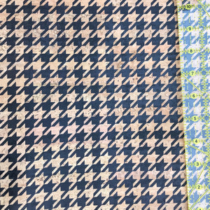 Printed Small Houndstooth Cork