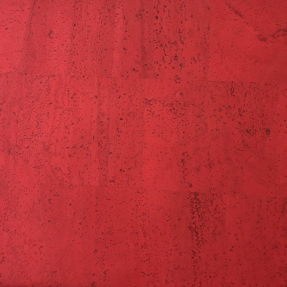 Red - Candy Red Cork Fabric