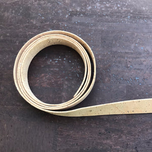 "Strapping - 3/4"" Natural Cork Strap"