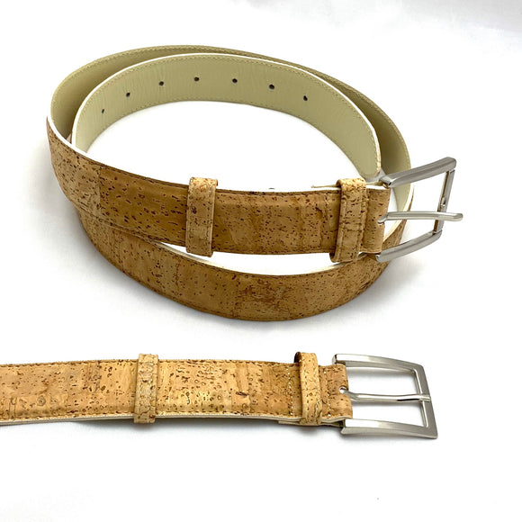 Belt - Natural Cork