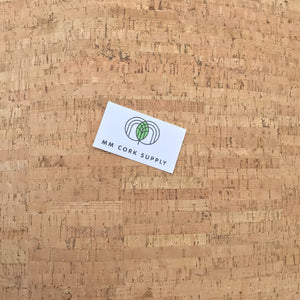 Natural Bamboo style Cork Fabric