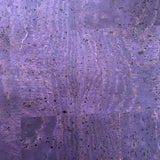 Purple Eggplant Cork Fabric