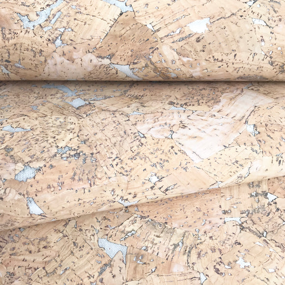 Guilded Bark - Cream Cork Fabric