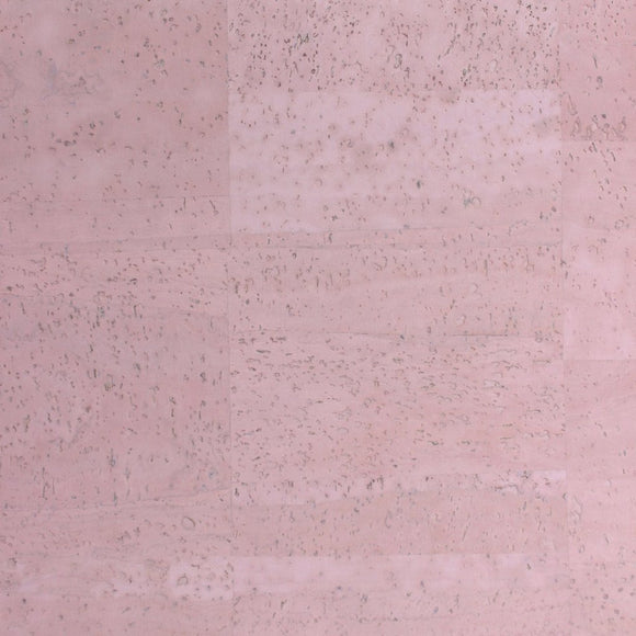 Pink - Light Pink Cork Fabric