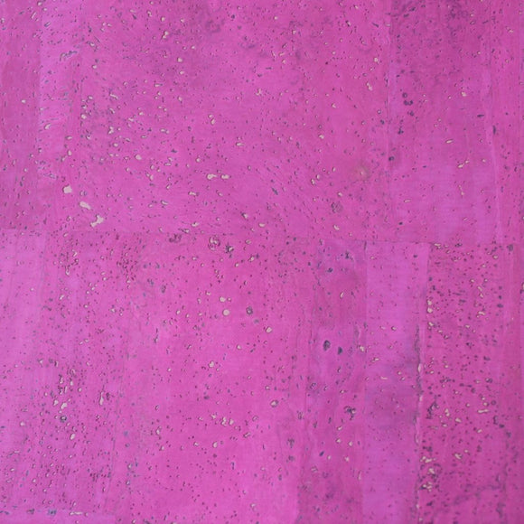 Pink - Fuchsia Cork fabric