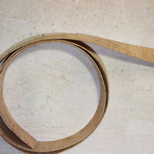 "Strapping - 1"" Natural Cork Strap"