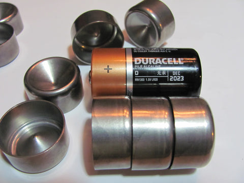 """Freeze plug 1.745/""""  High Wall Stainless Steel 10"""