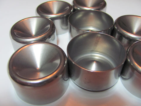 1 345 Solvent Trap cup for Maglite housing  High Wall Stainless!