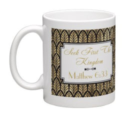 Seek First The Kingdom' Deluxe Mug