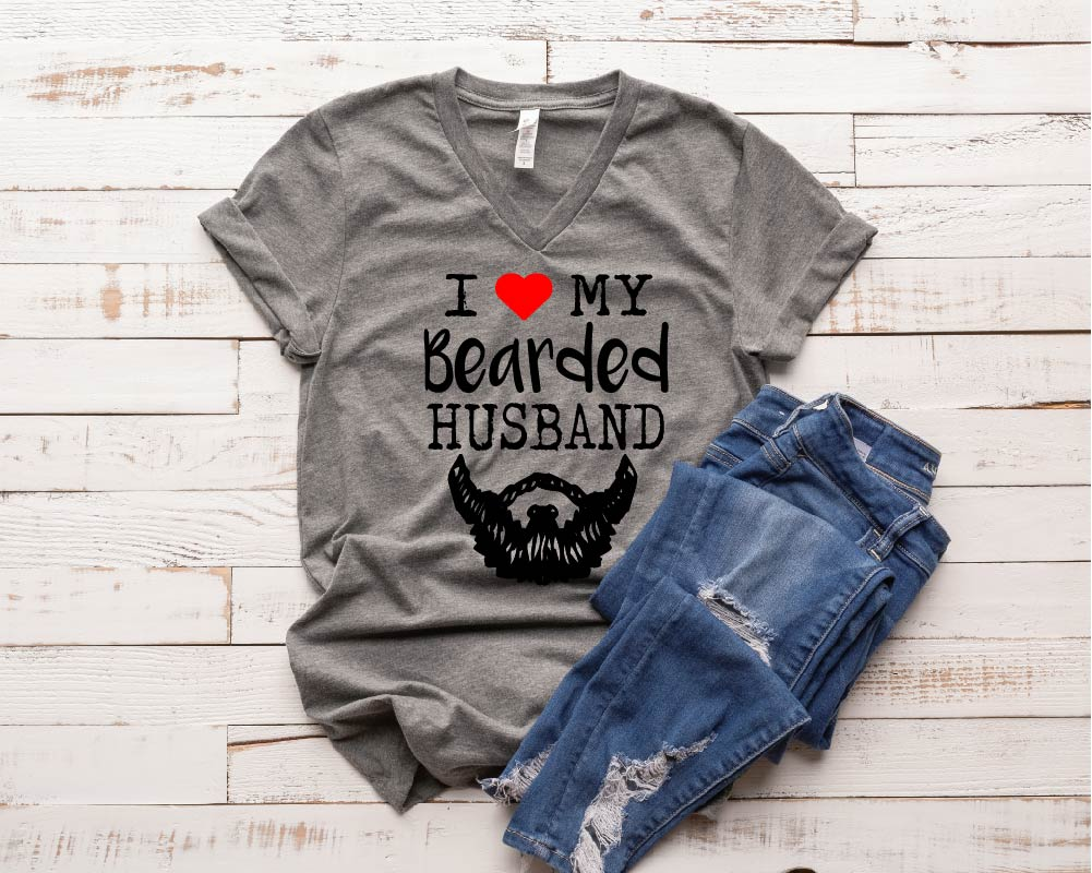 I Love My Bearded Husband Shirt - BirchBearCo