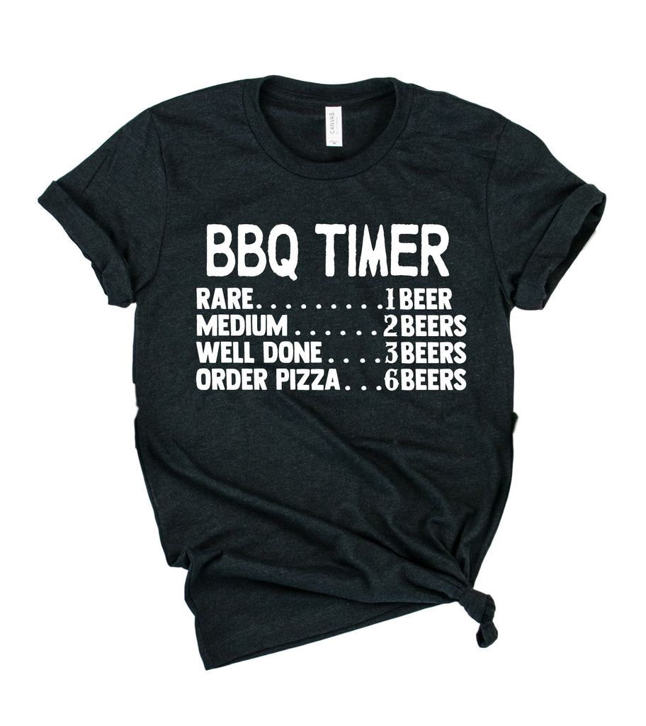 BBQ Timer Shirt | Mens Shirt | Dad Shirt | Husband Shirt - BirchBearCo