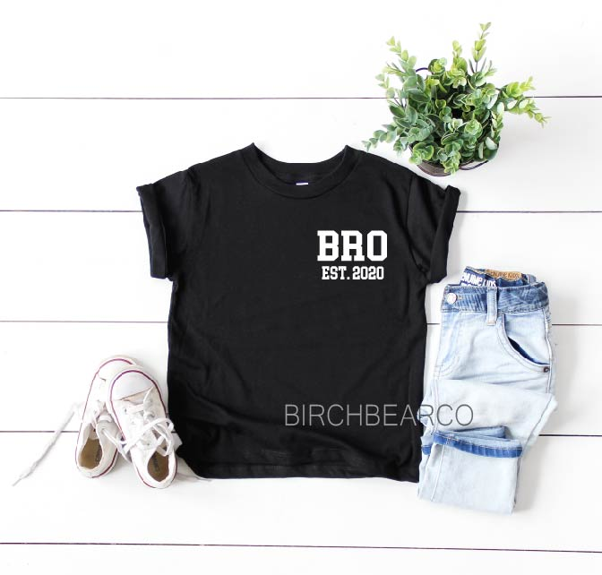 Promoted to Brother Shirt - BirchBearCo
