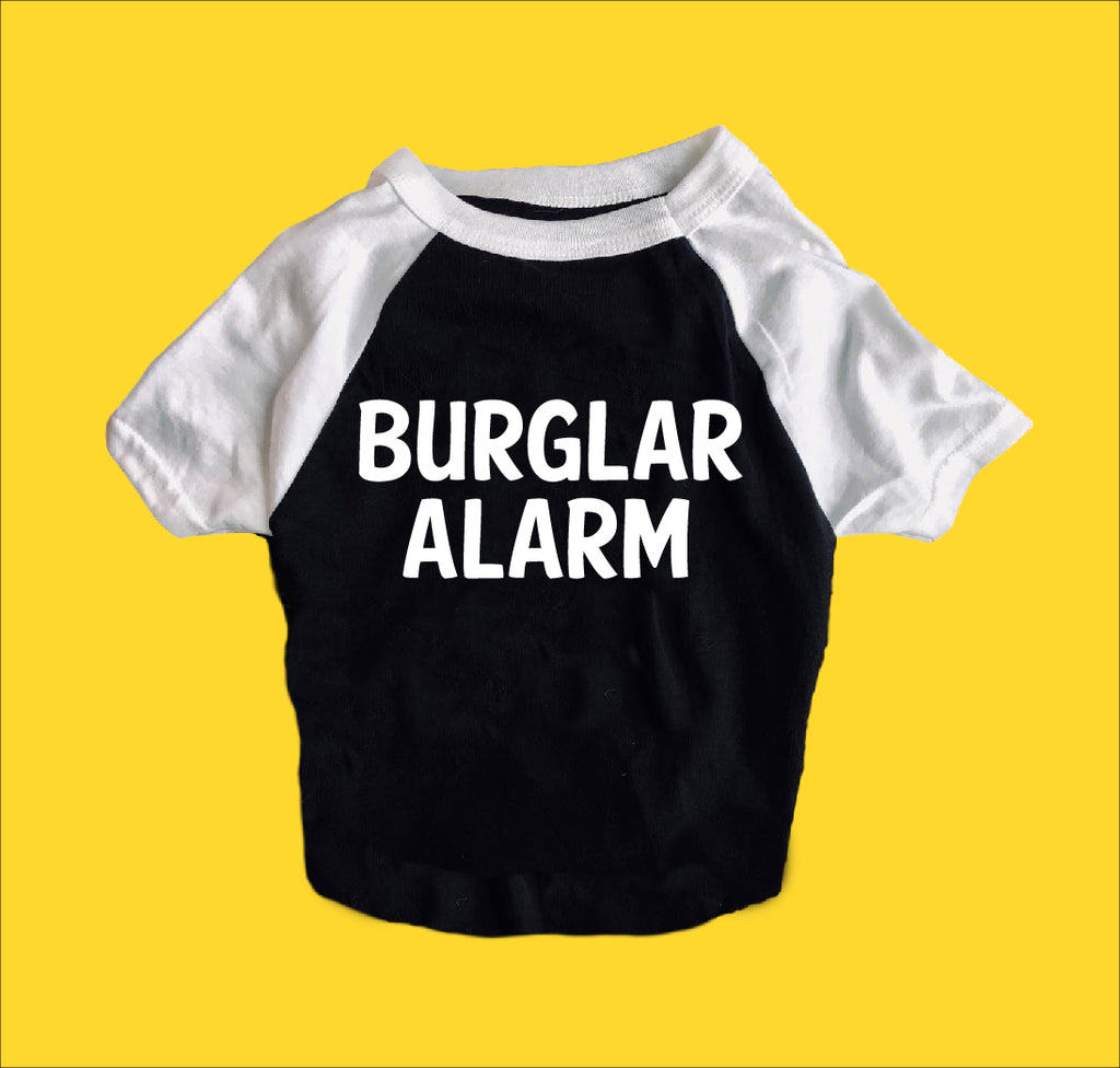 Burlar Alarm Shirt | Dog Shirts For Dogs - BirchBearCo