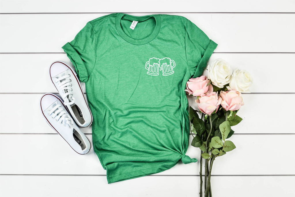 Cheers Pocket - St Patrick's Day Shirt - BirchBearCo