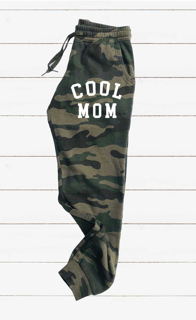 Cool Mom Graphic Women's Soft Washed Sweatpants - BirchBearCo