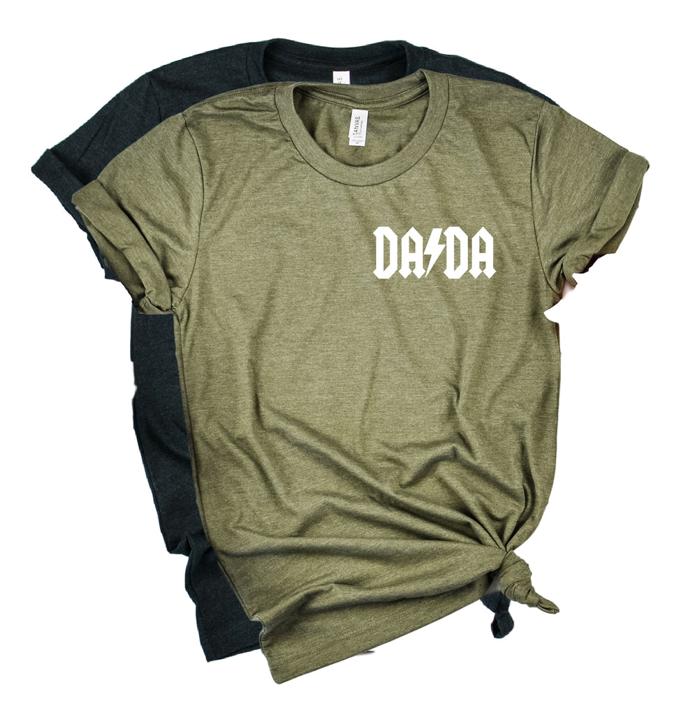 DADA Shirt | Mens Shirt | Dad Shirt | Husband Shirt - BirchBearCo